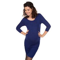 Zwangerschapsjurk met driekwartmouwen