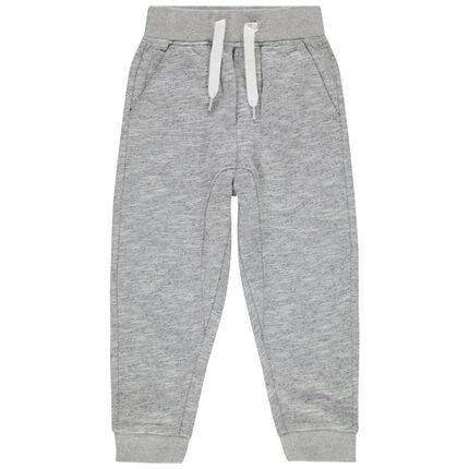 Pantalon de jogging chiné
