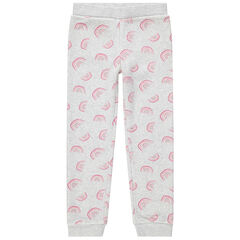 Pantalon de jogging en molleton imprimé all-over