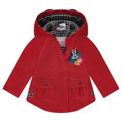 Coupe-vent en gomme doublé jersey Disney Minnie