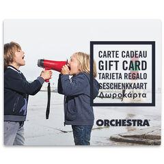 E-Kaart cadeau Orchestra duoGarcons