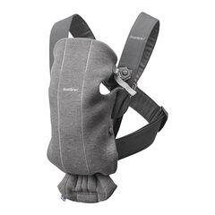 Porte-bébé Mini 3D jersey - Gris foncé