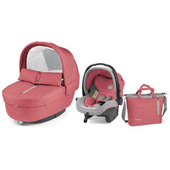 Navetta Elite luxe set gr 0+ - Breeze coral