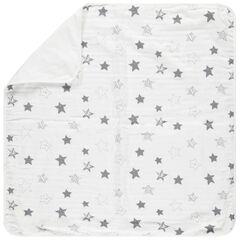 Couverture imprimée étoiles
