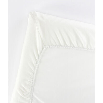 Drap housse pour lit parapluie Light – Natural white