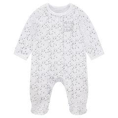Pyjama in fluweel