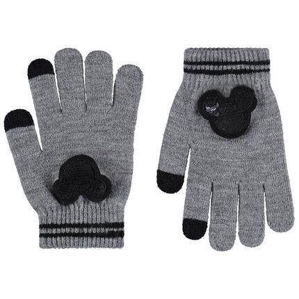 Disney-wanten van tricot met Mickey van lovertjes