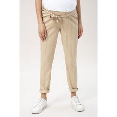 Pantalon de grossesse avec ceinture à nouer , Prémaman