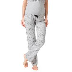 """Homewear zwangerschapsbroek met print """"all-over"""""""