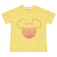 """T-shirt met korte mouwen uit jerseystof met print """"all-over"""" van Mickey ©Disney"""