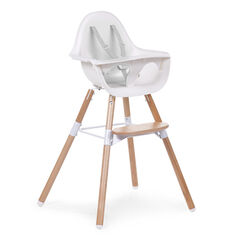 Chaise Haute Evolu 2 - Naturel/Blanc
