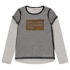 Junior - Tee-shirt avec effet de superposition