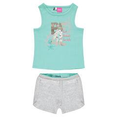 Pyjama court Disney Ariel