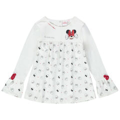 Tuniek met lange mouwen met print met Minnie Disney motieven