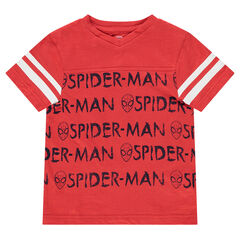 Tee-shirt manches courtes en jersey avec prints ©Marvel Spiderman