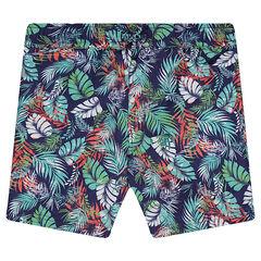 Junior - Zwemshort met tropische print