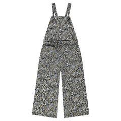 Junior - Lange, brede jumpsuit met waxprint