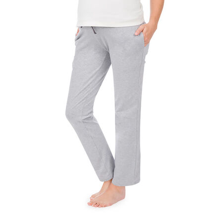Pantalon homewear de grossesse coupe ample