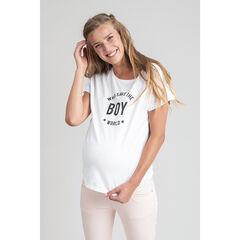 T-shirt de grossesse à message printé