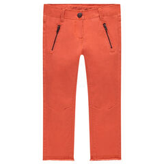 Junior - Pantalon skinny en twill uni