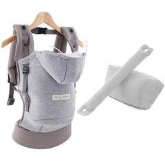 Porte-bébé  HoodieCarrier + Pack Booster - Gris athlétique