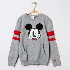 Pull en tricot motif Mickey Disney et bandes placées , Orchestra