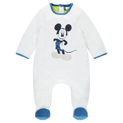 Dors-bien en velours Disney print Mickey