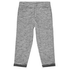 Pantalon de jogging en molleton twisté