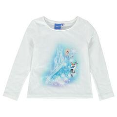 Tee-shirt manches longues Disney La Reine des Neiges