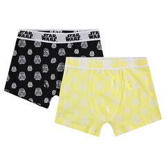 Junior - Lot de 2 boxers en coton avec motifs Star Wars™