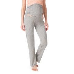 Pantalon de grossesse homewear avec imprimé all-over et bandeau haut