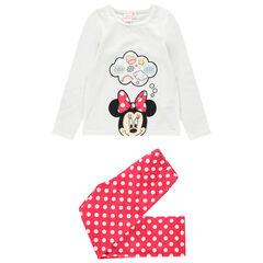 Pyjama van velours met print van Disney's Minnie