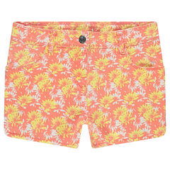 "Junior - Short in twill met print ""all-over"""