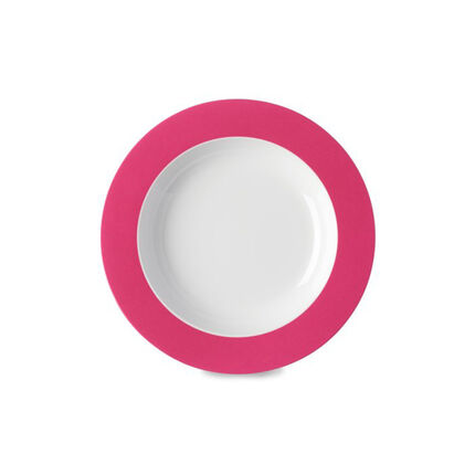 Diep bord Wave 210 mm - Latin Pink