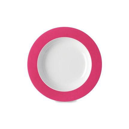 Assiette creuse Wave - Latin Pink