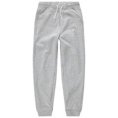Junior - Pantalon de jogging en molleton avec logo printé