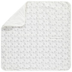 Couverture en coton motif chats all-over