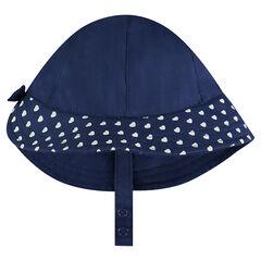 Βαμβακερό καπέλο με καρδούλες
