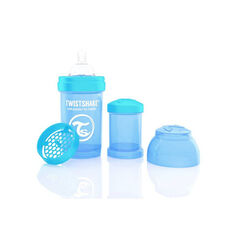 Biberon anti-colique 180 ml - Bleu Pastel  , Twistshake