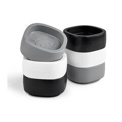 Cubes réhausseurs lit bébé - Noir/blanc/gris