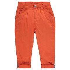 Pantalon chino à chevrons