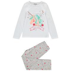 Pyjama en jersey print licorne