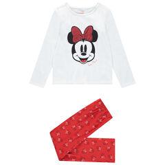 Pyjama en coton print Minnie Disney