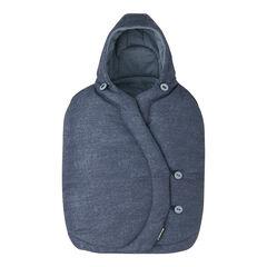 Voetenzak voor autostoel - Nomad blue