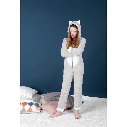 Overpyjama kat van fleece