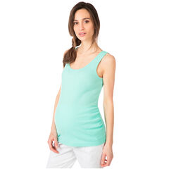 Zwangerschapstanktop van ribtricot