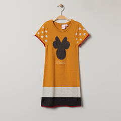 Robe manches courtes en tricot motif Minnie Disney