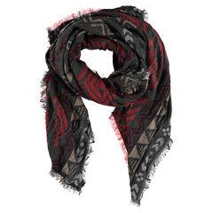 Sjaal met motif met etnisch