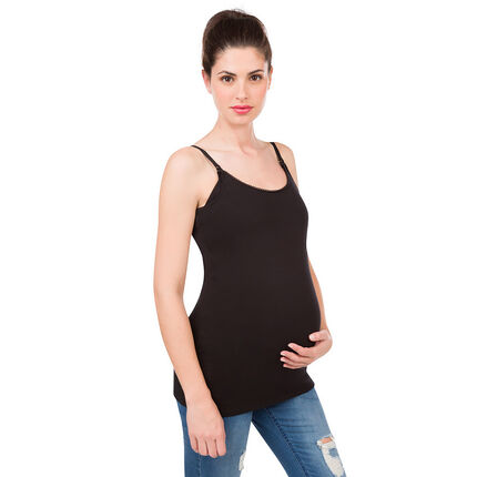 Lot de 2 débardeur de grossesse et d'allaitement unis