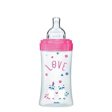 Babyflessen Sensation+ 270 ml - Fuchsia Love